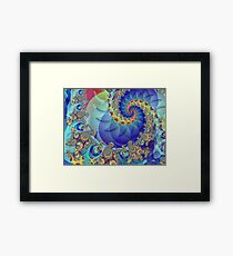 Spin Theory Framed Print