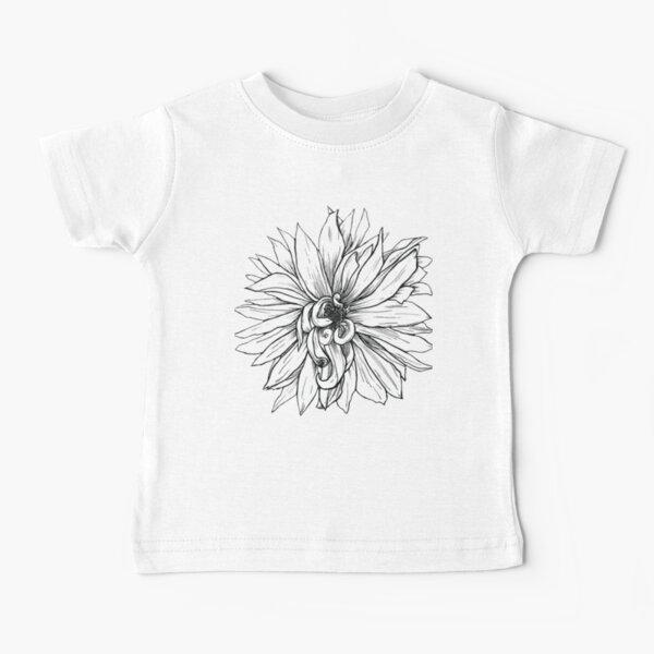 Curling Petals Baby T-Shirt