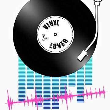 Vinyl Lover by tees4u