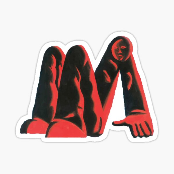 King Krule, Man Alive  Sticker