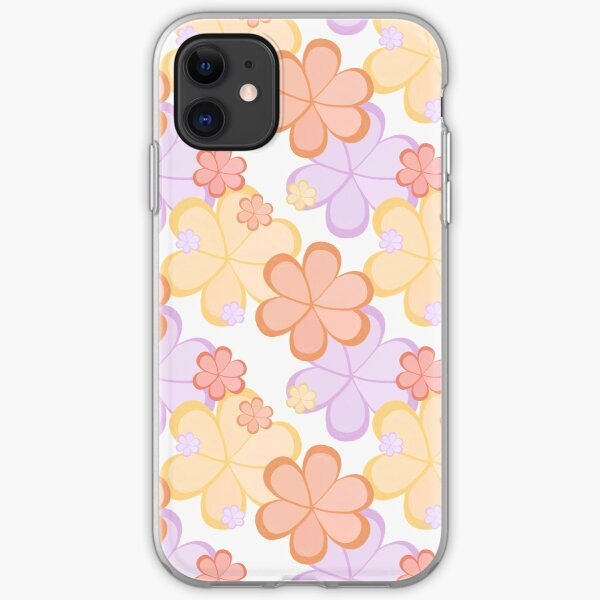 Flower Power pattern iPhone Soft Case