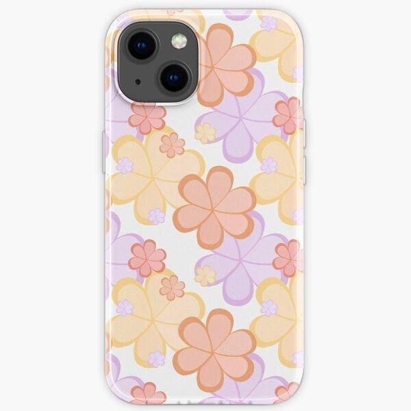 Flower Power pattern iPhone Soft Case