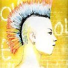 She Is A Punk Rocker by Karen Clark