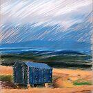 blauer Morgen by HannaAschenbach
