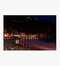 Levanto notte 2 Photographic Print