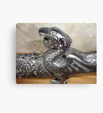 dragon sword Canvas Print