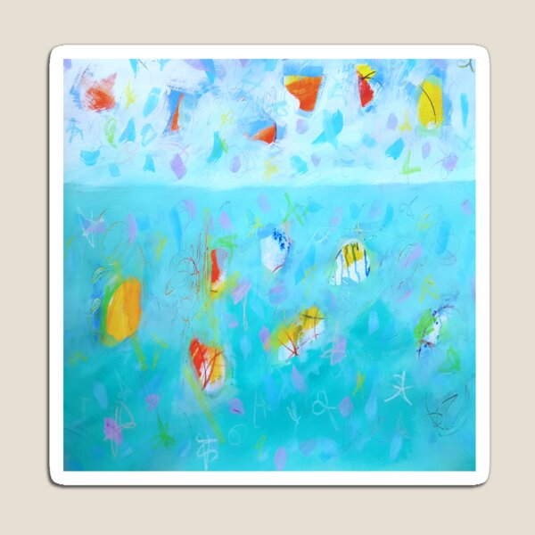 Modern Abstract Painting 4 Magnet