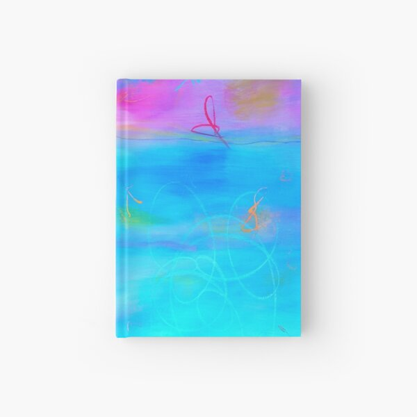 Modern Abstract Painting 2 Hardcover Journal