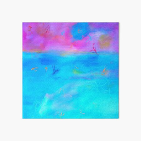 Modern Abstract Painting 2 Art Board Print