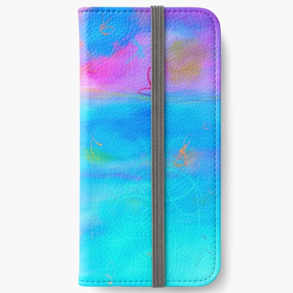 Modern Abstract Painting 2 iPhone Wallet