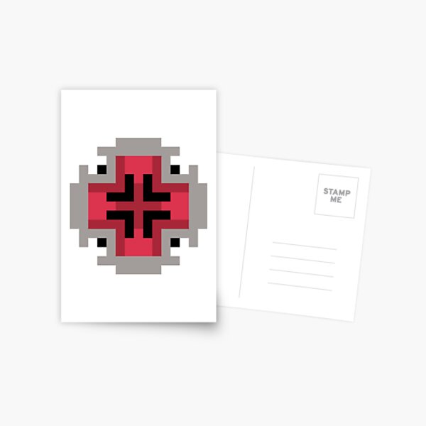 Spider Woman's Blessing - Red Emblem Postcard