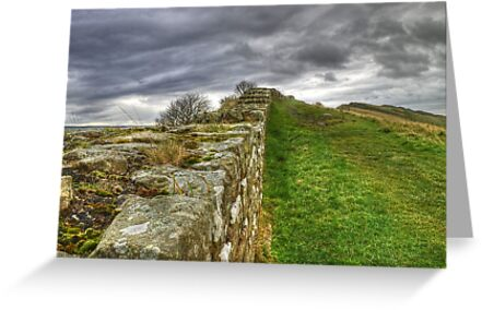 A Very Old Wall... by Jamie  Green