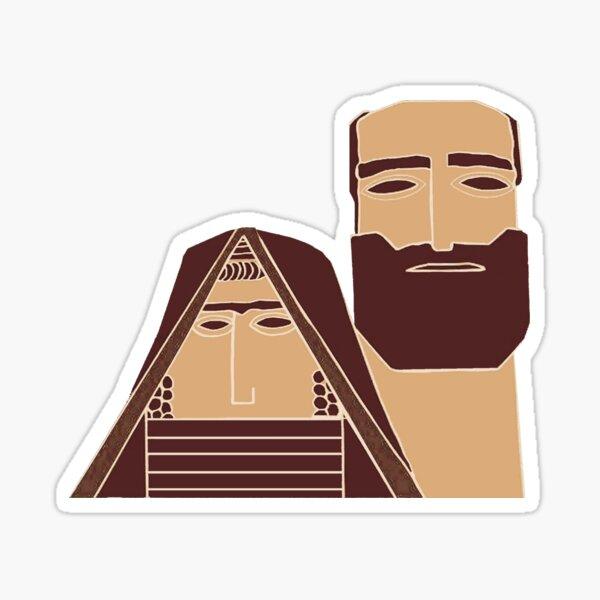 Tatik-Papik  տատիկ-պապիկ Sticker