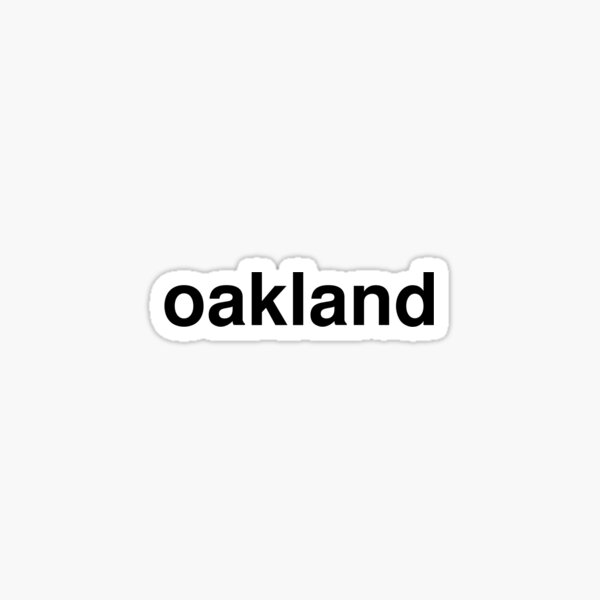 oakland Sticker