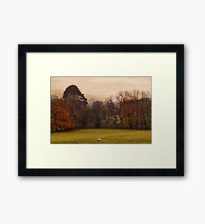 Mist Over Pendle Framed Print
