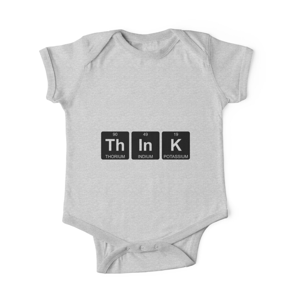 Th in k think periodic table chemistry one piece short th in k think periodic table chemistry by jenny zhang gamestrikefo Choice Image