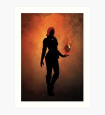 'The Witcher' - Triss Art Print