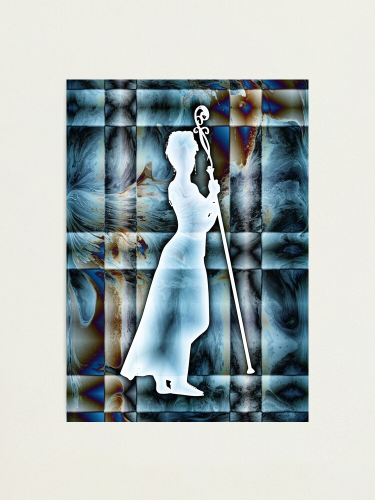Alternate view of Personification of Order Photographic Print