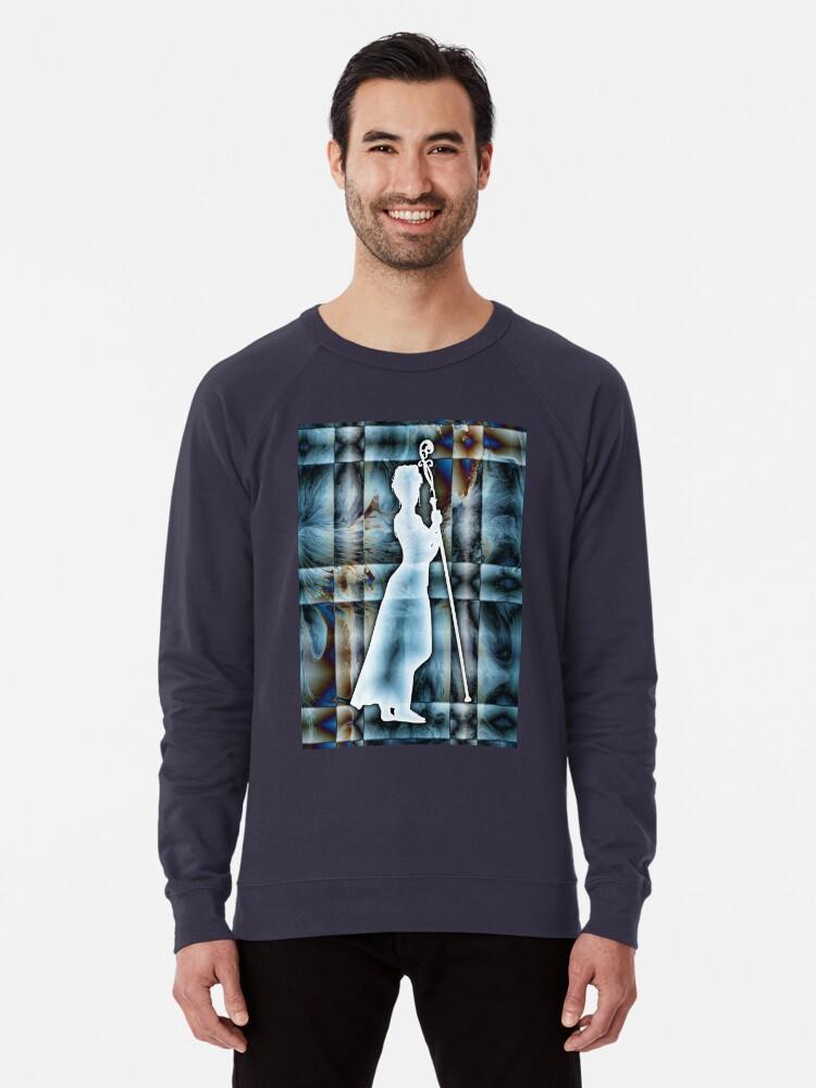 Alternate view of Personification of Order Lightweight Sweatshirt