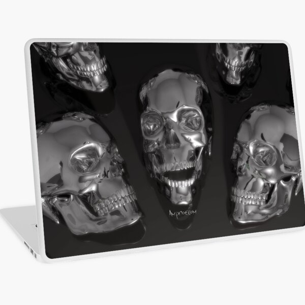 Metal Skulls Laptop Skin