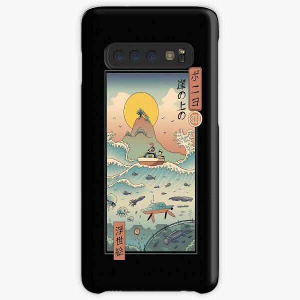 Ukiyo e by the Sea Coque rigide Samsung Galaxy