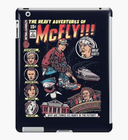 Heavy Adventures iPad Case/Skin