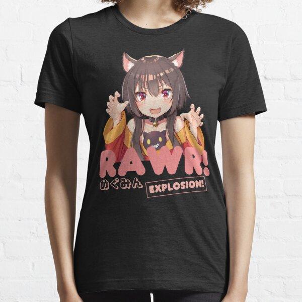 Megumin Neko Rawr! Essential T-Shirt