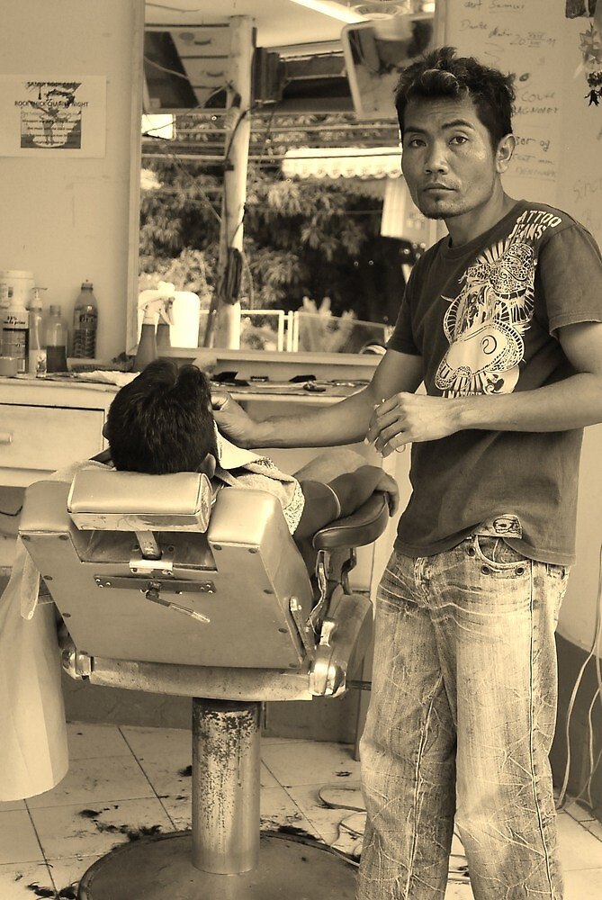 The Barber by Sherion
