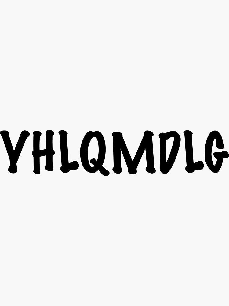 YHLQMDLG by Sujeiry