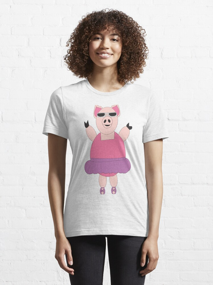 Alternate view of When Pigs Dance Essential T-Shirt