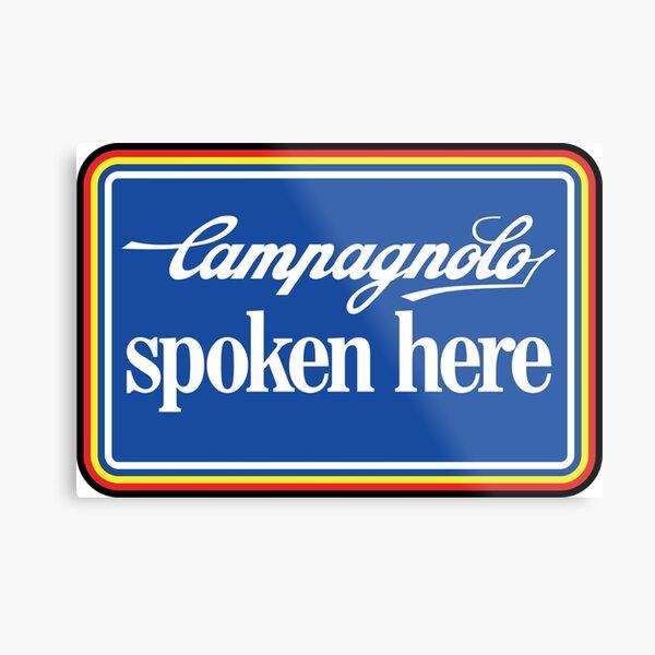 Campagnolo Spoken Here Metal Print