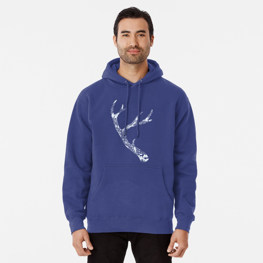 Tracks and Signs Pullover Hoodie