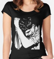 Ian Curtis 2 Women's Fitted Scoop T-Shirt