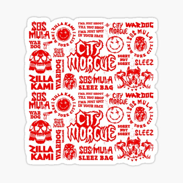 Threeci New City so gut wie tot American Tour 2020 Sticker