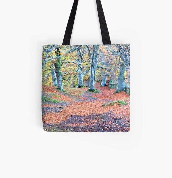 beech wood All Over Print Tote Bag