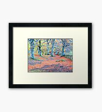 beech wood Framed Print