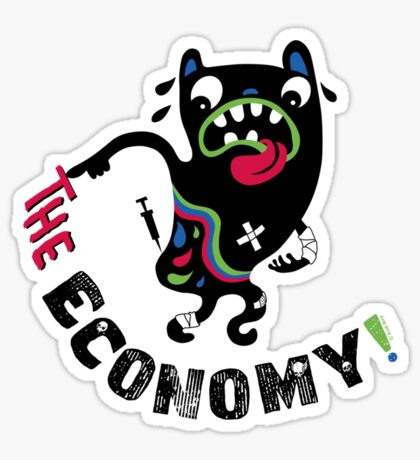 Bad Economy Sticker