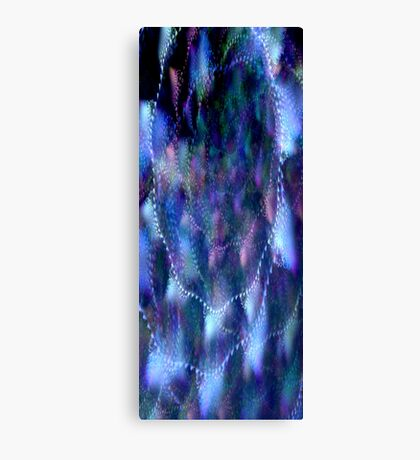 Melted Times Canvas Print