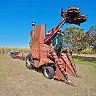 Old cane harvester by Kim Austin