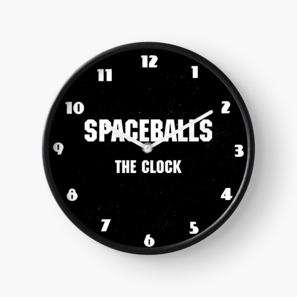 Spaceballs - The Merchandise Clock