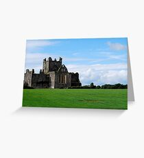 Dunbrody Abbey Greeting Card