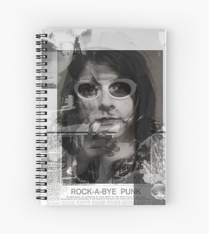 Cuadernos de espiral «kurt cobain por byer» de nickbyer   Redbubble
