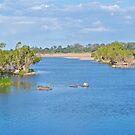 Burdekin River, Ayr. by Kim Austin