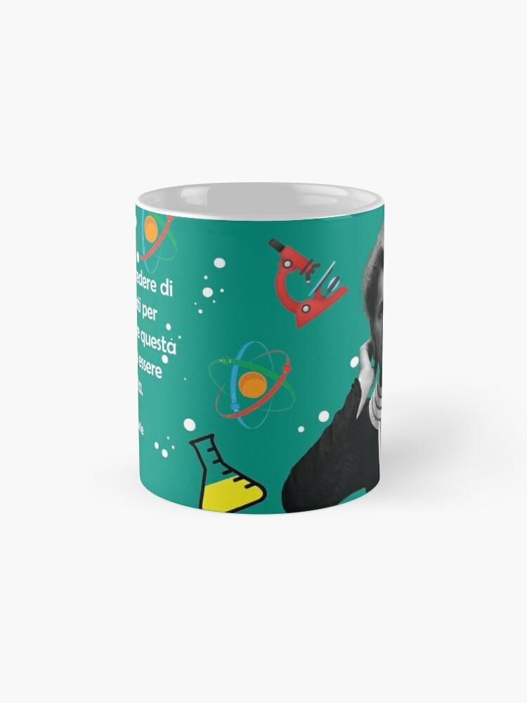 Alternate view of Marie Curie - Scientist Mug