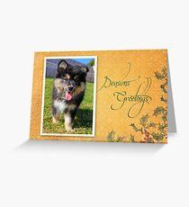 Christmas Card No 11 Greeting Card