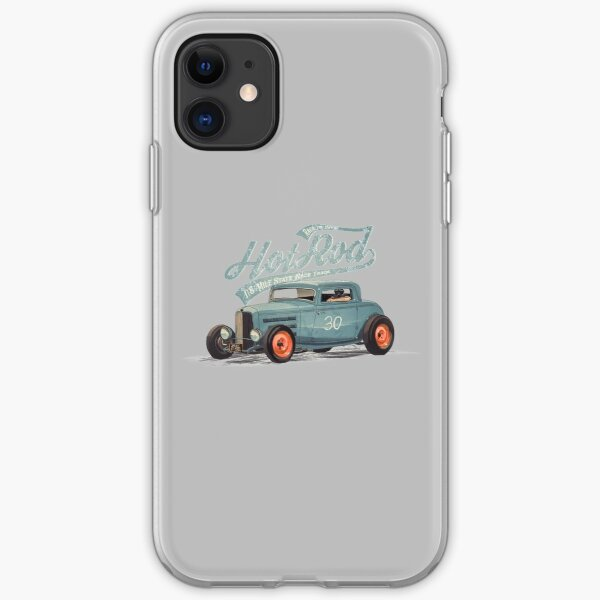 Hot Rod - Race The Devil iPhone Soft Case
