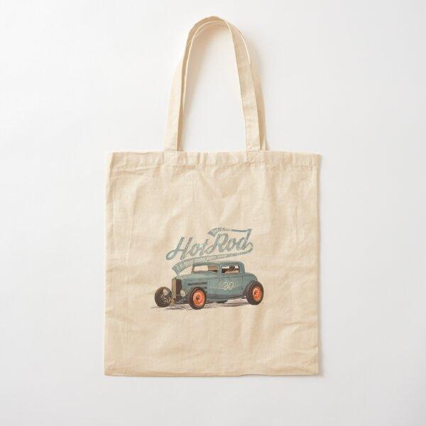 Hot Rod - Race The Devil Cotton Tote Bag