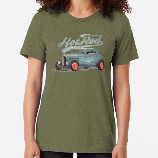 Hot Rod - Race The Devil Tri-blend T-Shirt