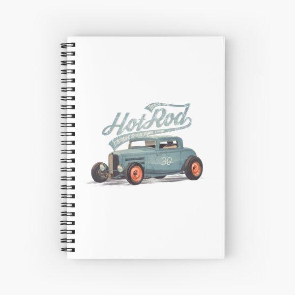 Hot Rod - Race The Devil Spiral Notebook