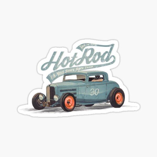 Hot Rod - Race The Devil Glossy Sticker